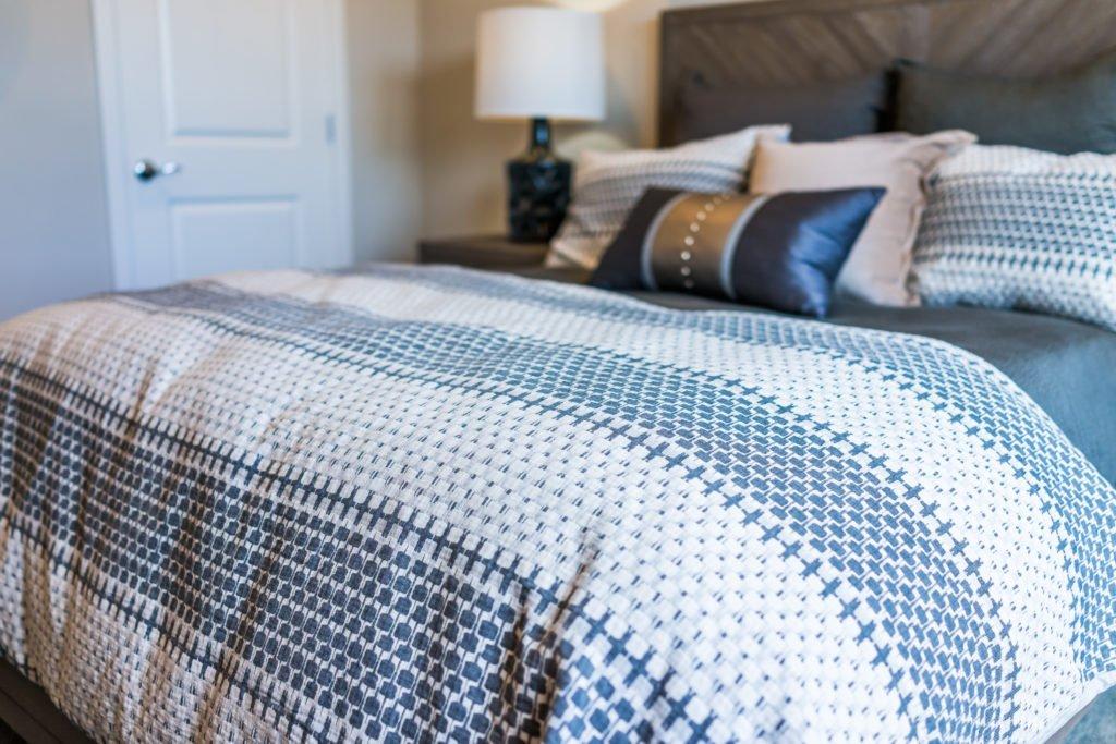 Decorative Pillows and Bedsheet